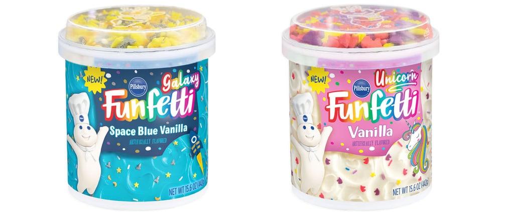 Pillsbury Unicorn and Galaxy Funfetti Cake Mixes