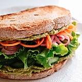 Green Goddess Hummus Sandwich