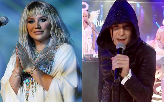 FROM EW: Kesha Defends Corey Feldman Against Critics: 'Keep Your Head Up - Normal Is Boring'