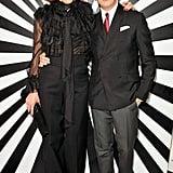 Vanessa Arelle and Stefano Tonchi