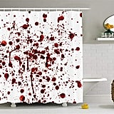 Splashes of Blood Shower Curtain