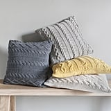 Gallery Direct Walton Cable Knit Cushion