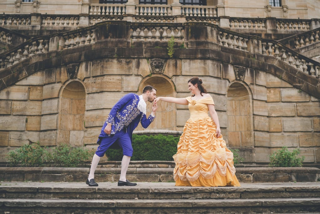 Beauty And The Beast Themed Wedding.Beauty And The Beast Themed Wedding Popsugar Love Uk