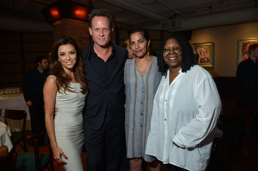 Eva Longoria and Whoopi Goldberg got together with their fellow jurors at a Tribeca Film Festival welcome lunch.