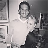 Kaley Cuoco and Ryan Sweeting had the look of love.