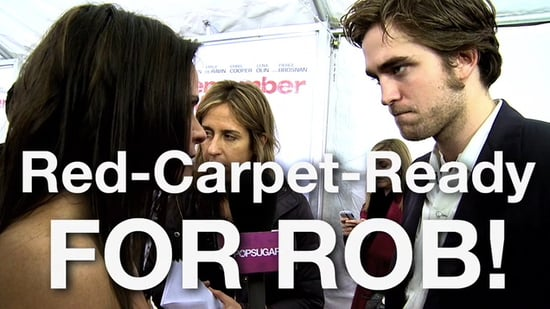 Red Carpet Ready for Robert Pattinson! Salon Makeover for Remember Me Premiere