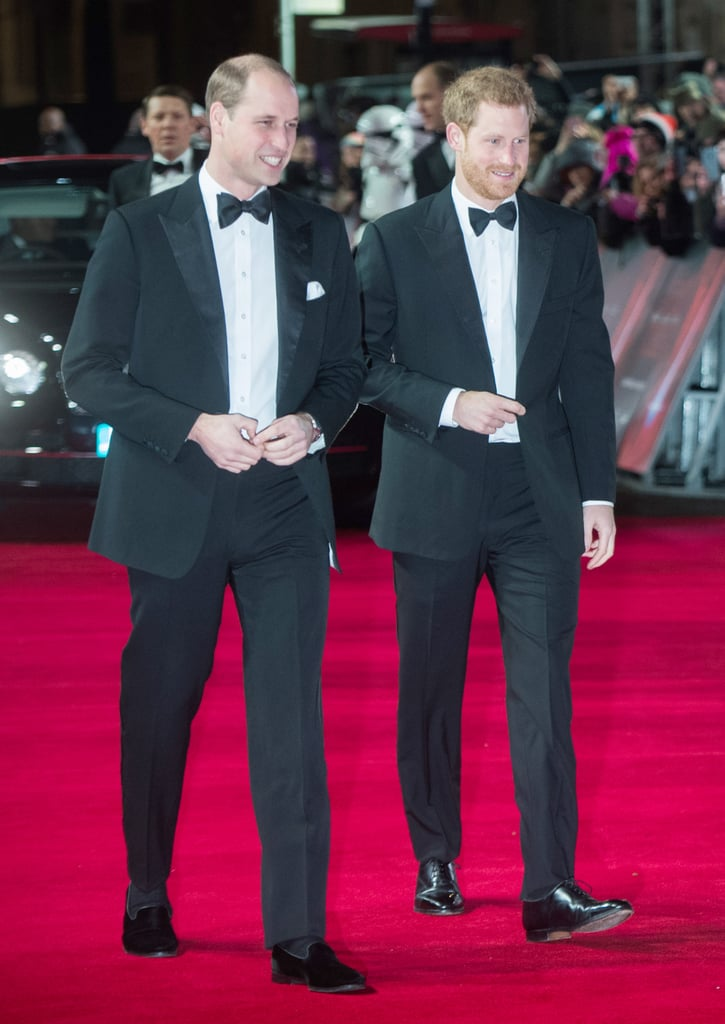 Prince William Wore a Pair of Suede Loafers to the Star Wars: The Last Jedi Premiere