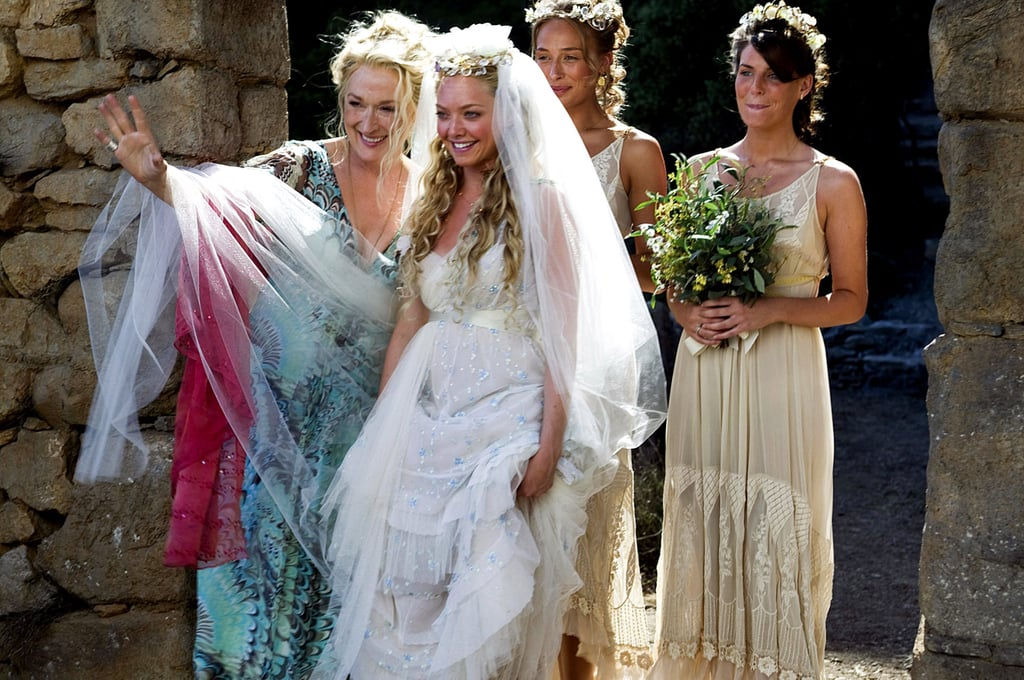 Mamma Mia Best Movie Wedding Dresses Popsugar Fashion Photo 4