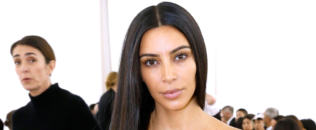 You'll Want to Zoom In to Get a Better Look at Kim Kardashian's Makeup-Free Face