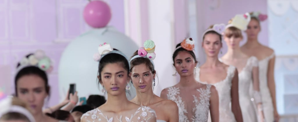 Ines Di Santo Beauty Bridal Fashion Week 2017