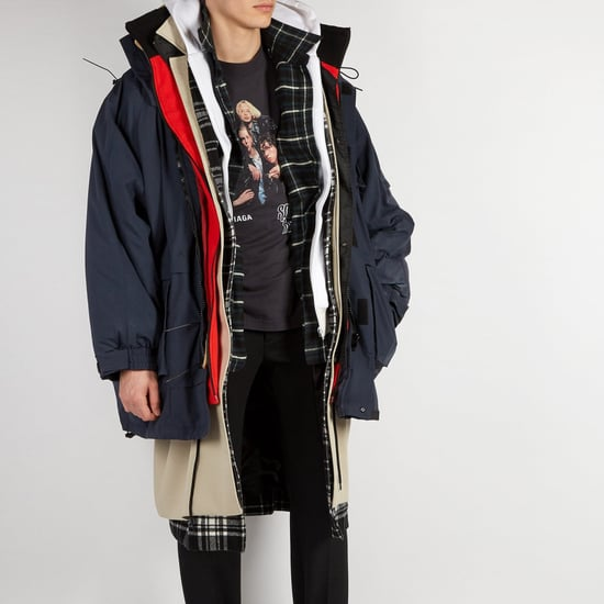 Balenciaga Layered Parka Fall 2018