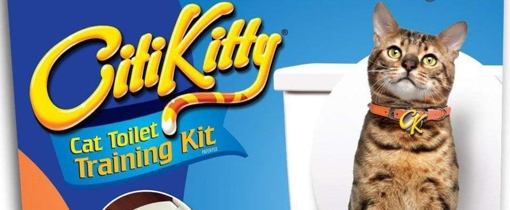 CitiKitty Cat Toilet Training Kit From Shark Tank