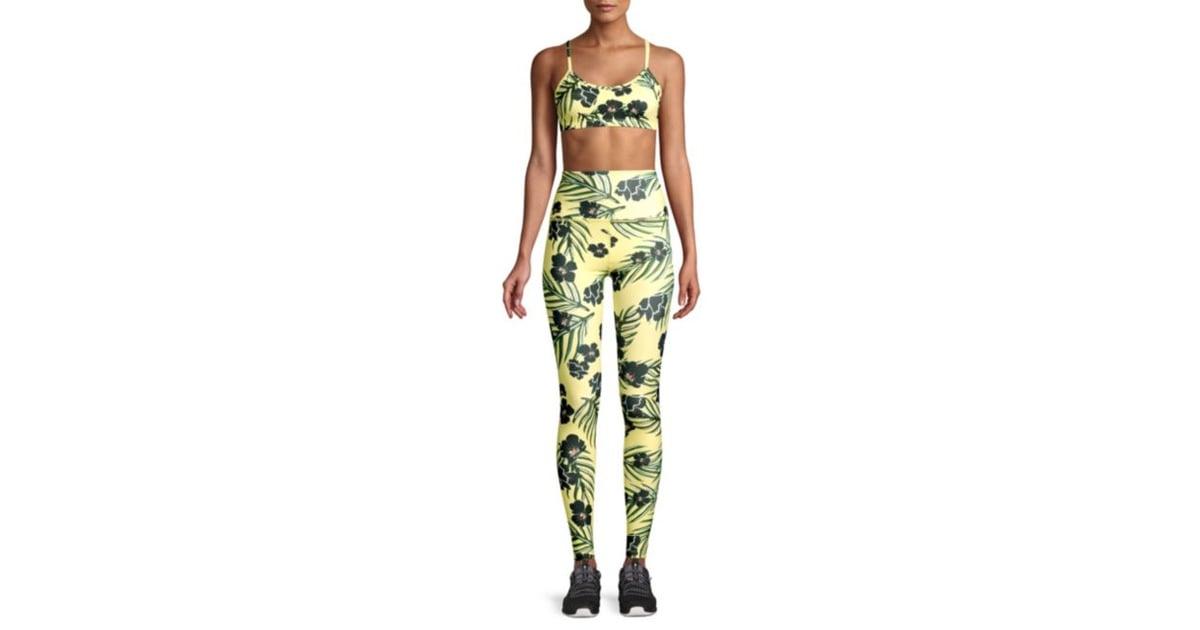 a6ac6b2a3a98a3 Beyond Yoga Olympus High-Waist Floral Leggings   Best Patterned ...