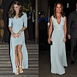 When They Both Looked Lovely in Powder Blue Gowns