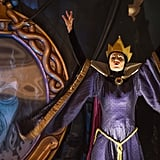 The wicked queen calls on her powers.