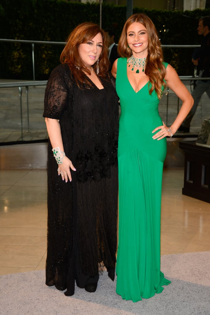 Sofia Vergara posed with Lorraine Schwartz at the CFDA Fashion Awards.