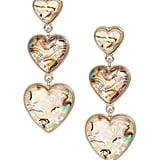 Abalone Heart Earrings