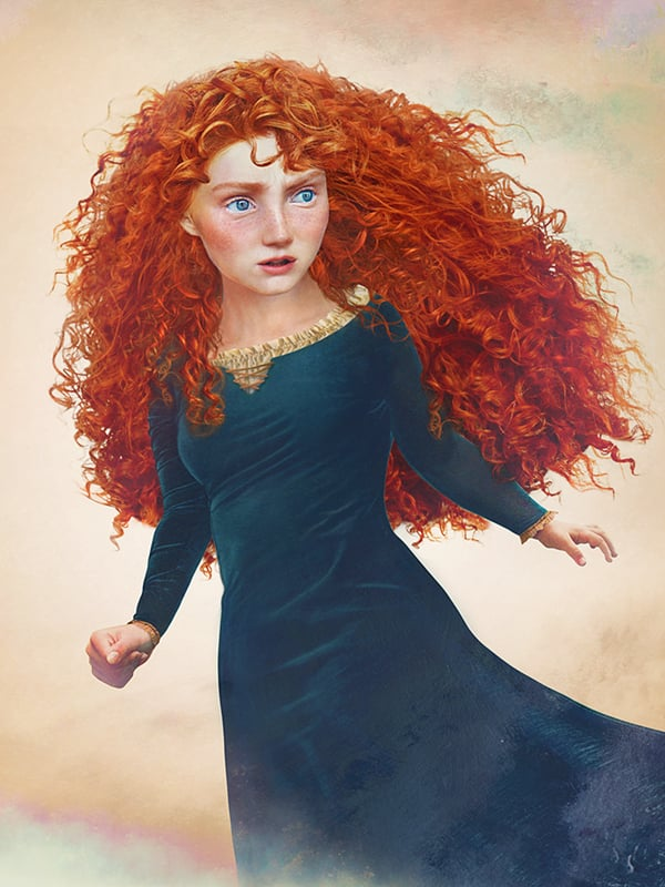 ariel disney princesses in real life drawings