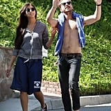 Shirtless Shia Frames Up a Picture-Perfect Afternoon With His Girlfriend