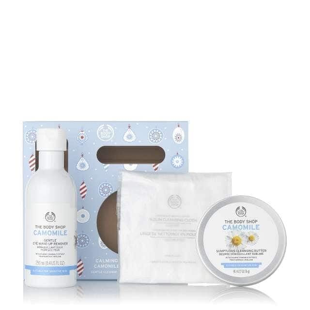 The Body Shop Calming Camomile Gentle Cleanse Kit