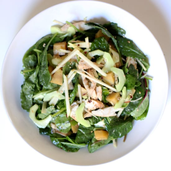 Chicken and Baby Kale Salad Recipe