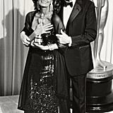 Sophia Loren and Gregory Peck, 1991