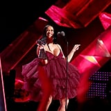 Cardi B's Red Dress at iHeartRadio Music Awards 2018