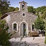 The estate includes a private chapel.