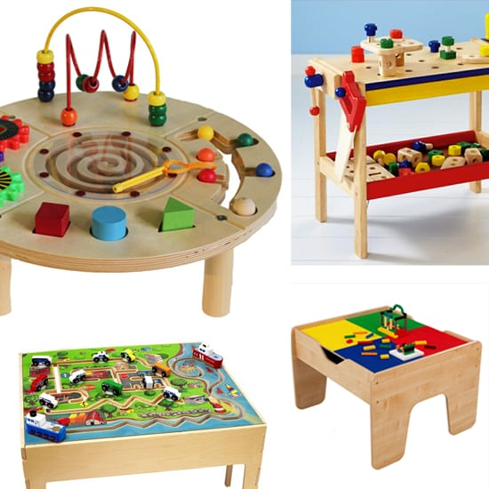 5 Wooden Play Tables For Some Old School Fun