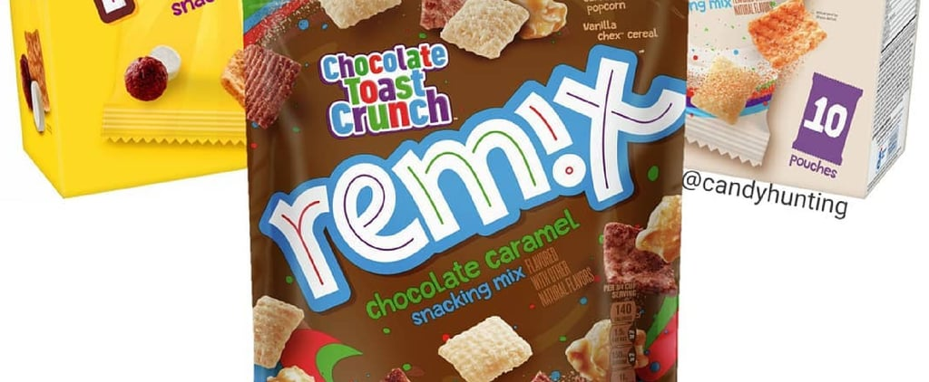 Golden Grahams and Cinnamon Toast Crunch Cereal Snack Mixes