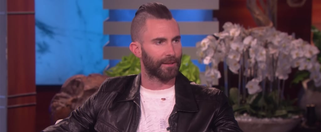 Adam Levine Talks About Being a Stay-at-Home Dad on Ellen