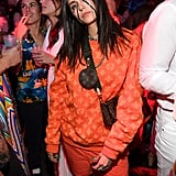 Nina Dobrev Wearing Louis Vuitton For Her Billie Eilish Halloween Costume