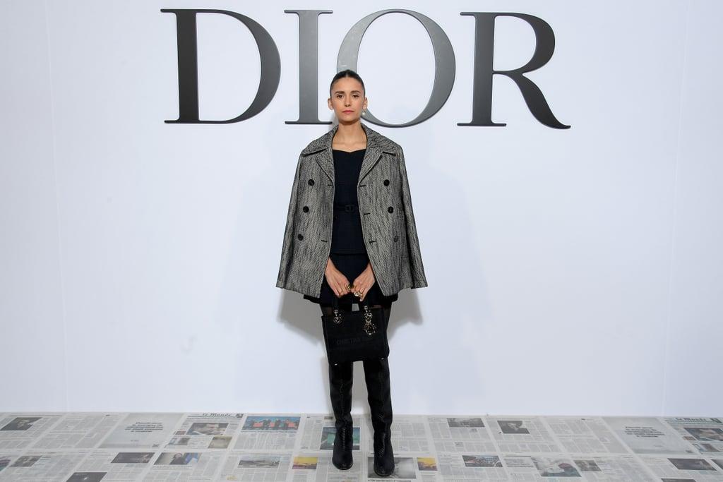Nina Dobrev at the Dior Fall 2020 Show