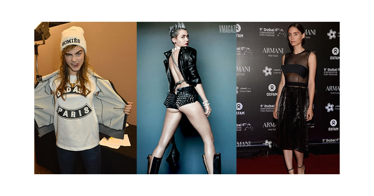 Celebrity Punk Style Icons Video Popsugar Fashion