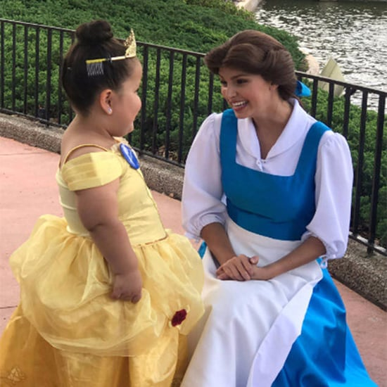 Belle Making Little Girl's Dream Come True