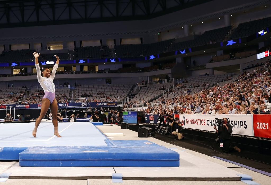 Simone Biles Wins Her 7th US Gymnastics Championships
