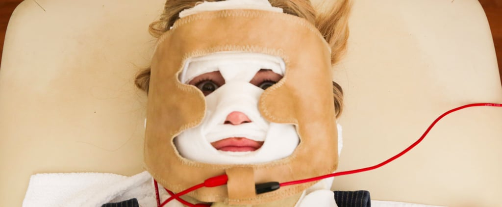 "Electrotherapy For Youthful Skin? We Tried the ""Hannibal Lecter"" Facial"