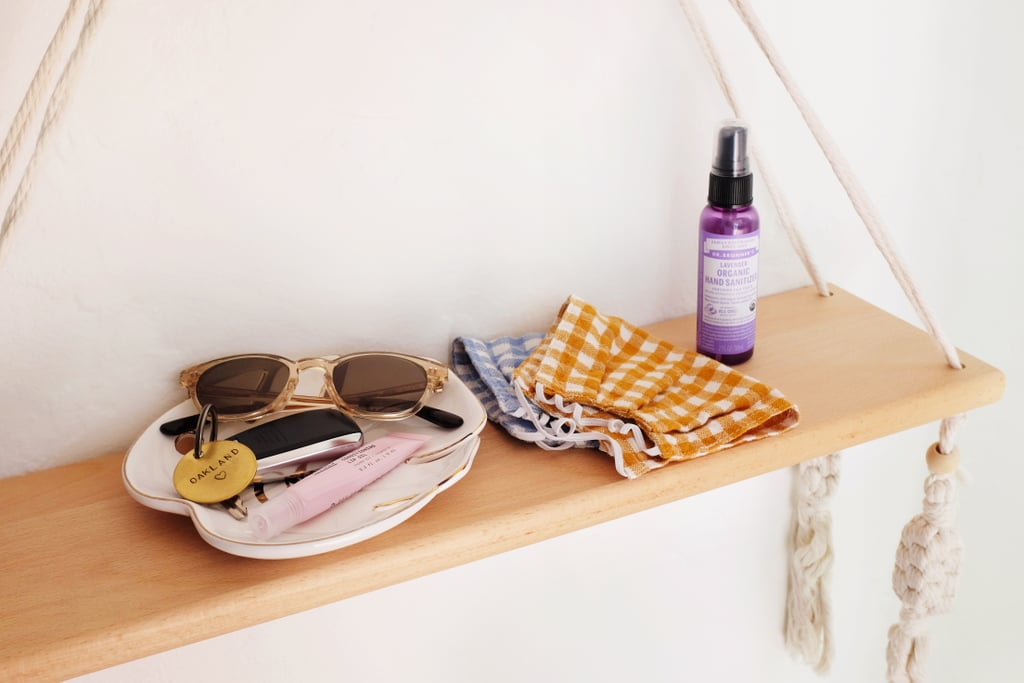 How to Style a Wall Shelf For the Entry