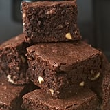 Cut brownies with a plastic knife.