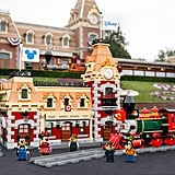 Pictures of the Lego Disney Train and Station Set at Disneyland