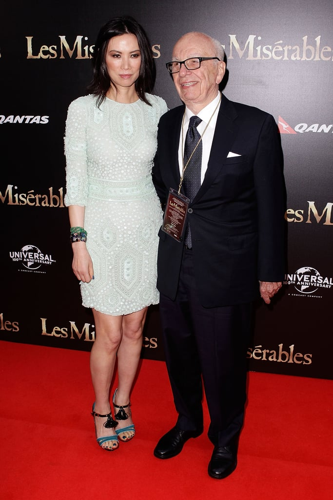 Wendy Deng and Rupert Murdoch