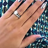 Silver with pointy tips