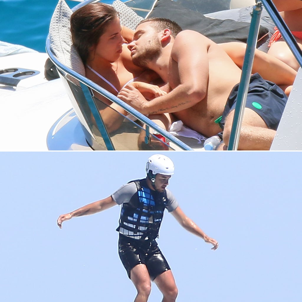 Liam Payne on Vacation in France 2014