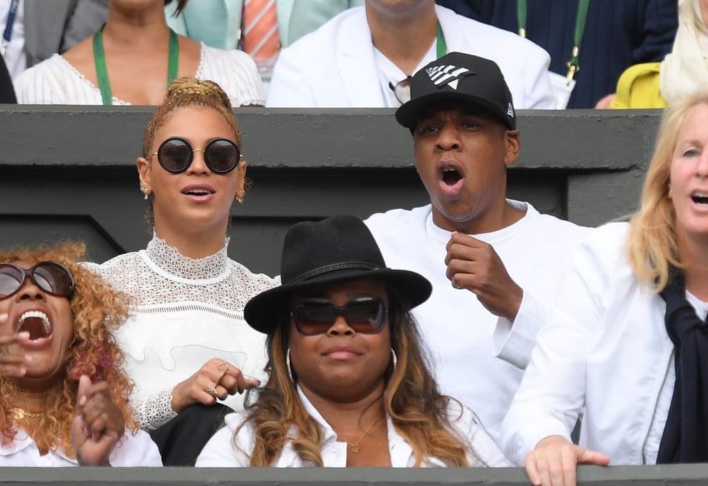 Beyonce and Jay Z at Wimbledon July 2016