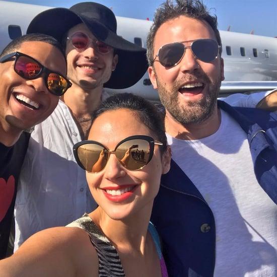 Gal Galdot Justice League Selfie July 2017