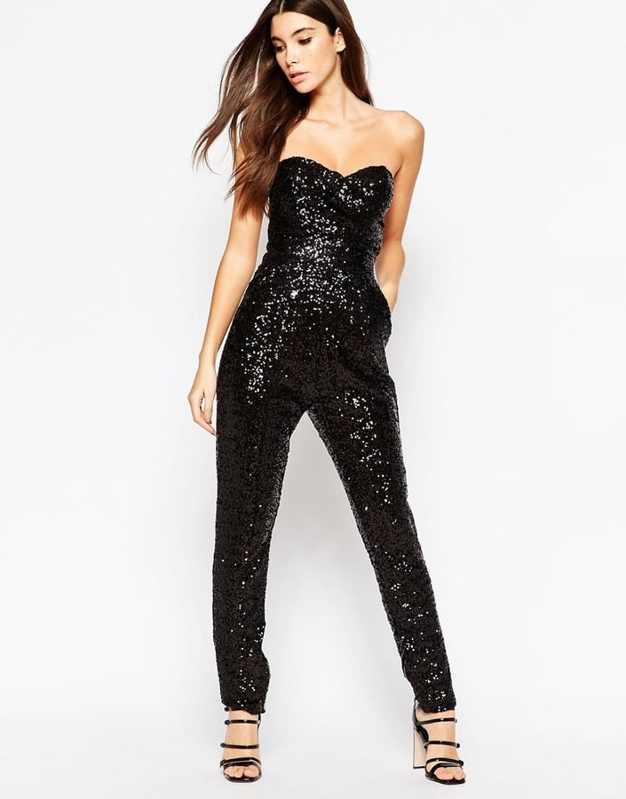13871a958ed4 TFNC All Over Sequin Bandeau Jumpsuit (£70)