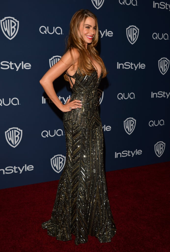 Sofia Vergara changed into a sexy, sparkly number for the afterparty.