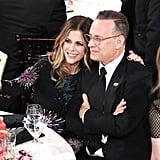 Pictured: Rita Wilson and Tom Hanks