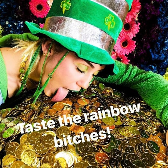 Miley Cyrus and Liam Hemsworth on St. Patrick's Day 2018
