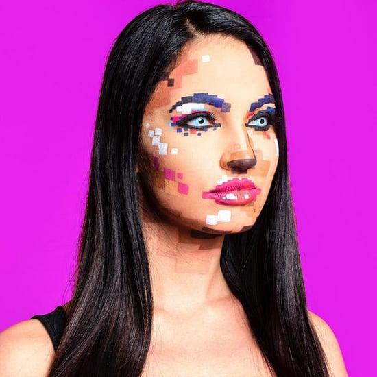 Pixel Face Makeup